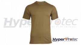 T-Shirt Mil-Tec Style US Couleur Coyote