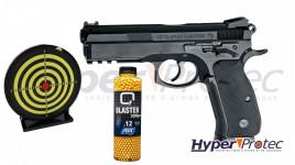 Pack Pistolet à Bille CZ Shadow SP-01