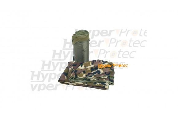Plaid militaire couverture légère vert camouflage