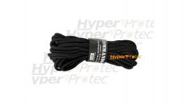 Corde noire épaisseur 9 mm longueur 15 m