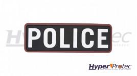 Patch Airsoft Police Couleur Noir
