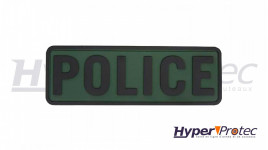 Patch Airsoft Police Couleur Vert