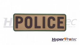 Patch Airsoft Police Couleur Tan