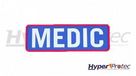 Patch Airsoft Medic Couleur Bleu