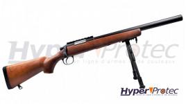 Pistolet a blanc Retay Eagle X matte chromé - calibre 9mm