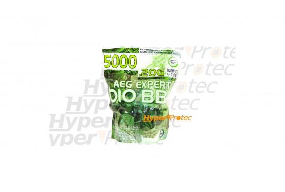 5000 billes AEG Expert 0.20g biodégradables
