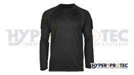 T-Shirt manches longues Quick Dry - Noir
