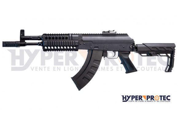 Mallette de transport rigide noire pour arme longue 110 cm