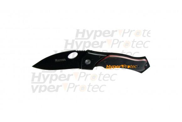 Couteau pliant noir - Black Crow