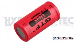 Pile CR123A Rechargeable 2800 MAH lithium-ion