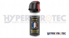 Spray anti agression CS 80 gaz défense - 50 ml