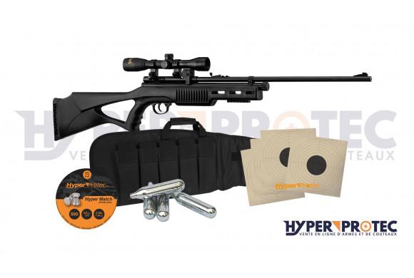 Pack prêt à tirer Carabine à plombs 4.5 mm Beeman QB78S CO2 avec lunette 4x32