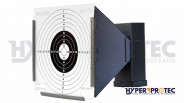 Porte cibles conique 14x14cm en métal