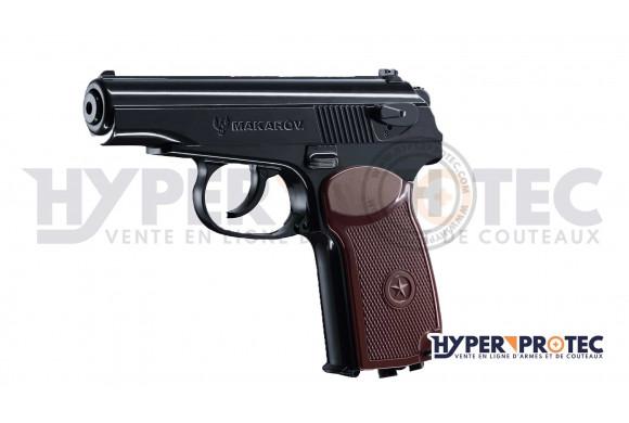 pistolet CO2 à billes acier 4.5 mm Makarov