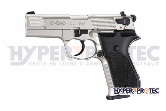 Walther CP88 - Pistolet à Plomb - Nickel