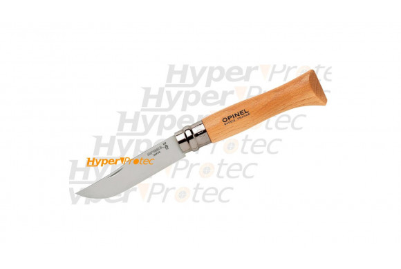 Couteau en bois lame lisse - Wood Tech