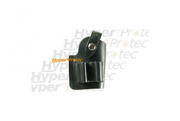 Etui discret holster port ceinture pour GC27 en cuir