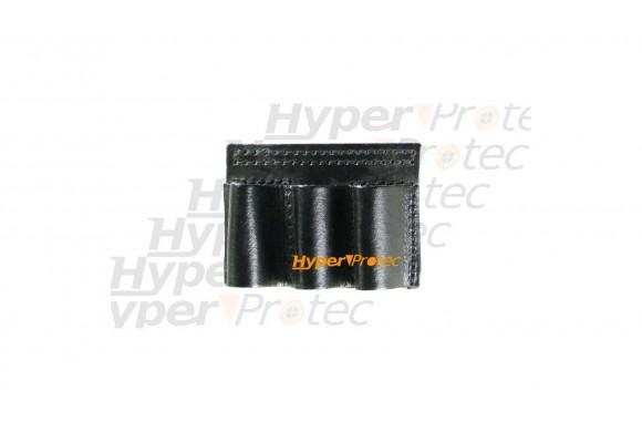 Cartouchière port ceinture pour calibre 12 50