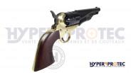 Revolver poudre noire PIETTA 1862 Pony Express Laiton Sheriff cal 36