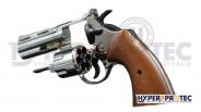 Revolver 357 Magnum Alarme Chromé