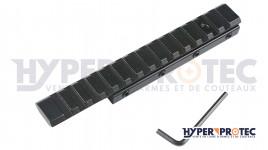 Rail de Transformation de 11 mm en 22 mm pour arme