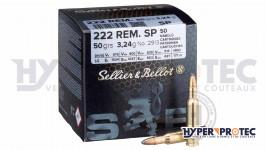 Sellier Bellot calibre 222 Rem. SP