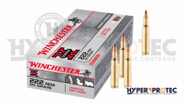 Munition calibre 222 Winchester Super X ogive JSP