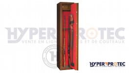 Coffre fort Sentinel couleur bois 7 armes longues