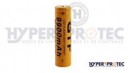 Batterie rechargeable 18650 de 3.7V Li-ion de 9900 mAh