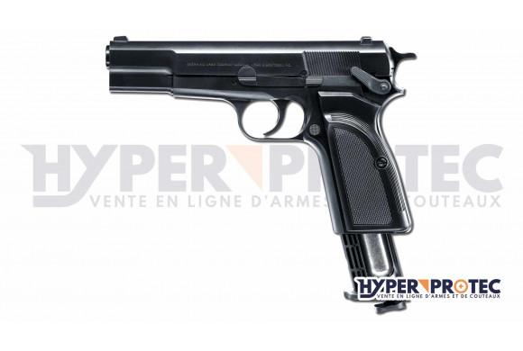 Colt Python 357 Magnum noir 6 pouces à billes acier 4.5 mm