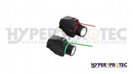 Hyper Access Magorui - Lampe et laser vert Tactique rail Picatinny