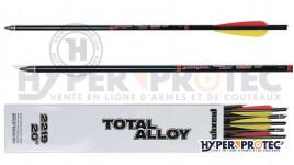 Pack 12 flèches Maximal Total Alloy 2219 - Flèche Arbalète 20 pouces