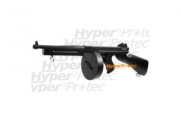 Thompson M1A1 Military + sangle + batterie + chargeur 1000 bbs