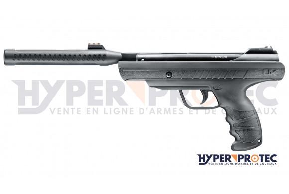 Pistolet arbalète PBX Dual de chez SKORPION pour flèches et billes acier