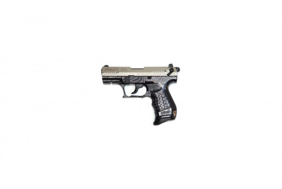 WALTHER P22 - PISTOLET ALARME NICKEL CARBONE
