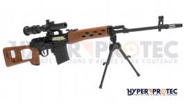 Pistolet Tan et noir CO2 Walther PPQ M2 T4E - cal .43