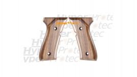 Plaquettes de crosse bois pour Beretta 92 alarme