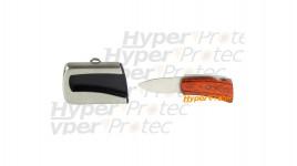 Couteau caché dans une boucle de ceinture - Little wood