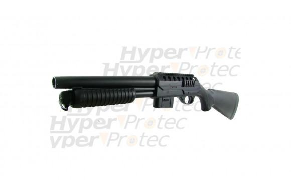 Pistolet arbalète corps synthétique noir 50 livres + 17 flèches