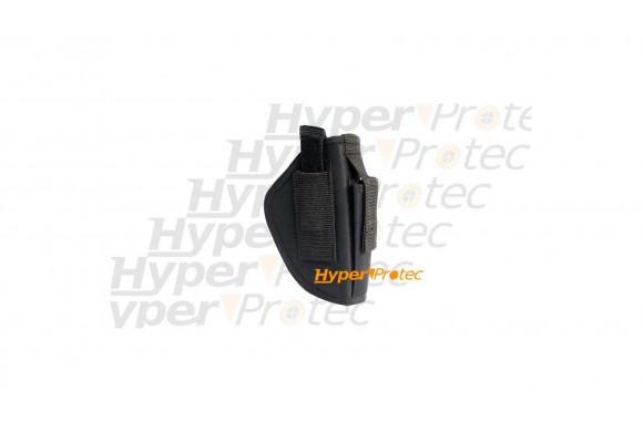 Holster de ceinture noir cordura pour port arme