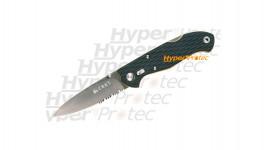 Couteau CRKT lame crantée - Lake 111