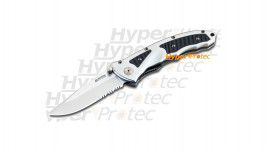 Couteau Piranha III lame crantée
