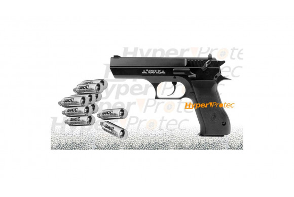 Carabine Gamo CSI crosse noire à plombs - 10 joules
