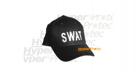 Casquette noire - SWAT pour airsoft et déguisement