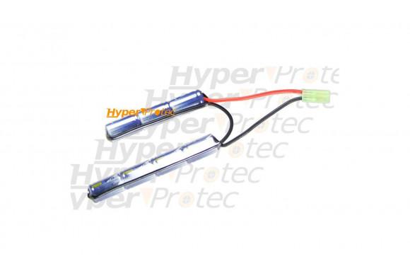 Batterie 1600 mAh 8.4V type mini - 2 bâtons