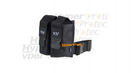 Harnais noir pour 2 pots bille paintball - NXe