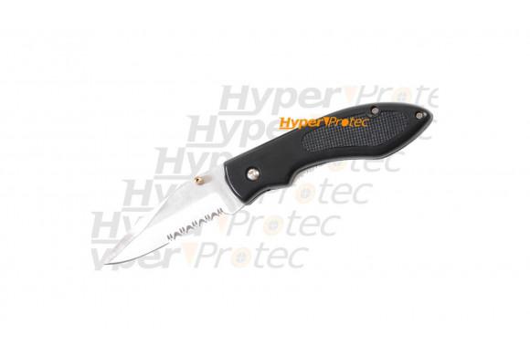 Couteau Python - lame crantée