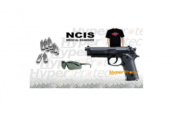 Reck Viper Vektor CP1 - pistolet alarme 9 mm noir