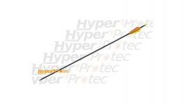 Flèche noire en fibre de verre pour tir à l arc de 73.5 cm