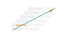 Flèche en aluminium bleue pour tir à l arc 30 pouces - 76cm